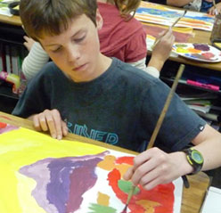 Homeschool art lesson plans & projects for kids